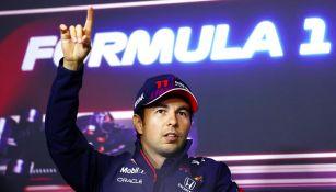 Checo Pérez saldrá en el tercer lugar en el Gran Premio de Austria