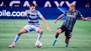 Chicharito Hernández: Galaxy perdió ante Sporting Kansas City, nuevo líder del Oeste