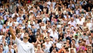 Novak Djokovic pasa a Semifinales en Wimbledon