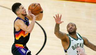 Suns vs Bucks en partido