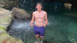 Iker Casillas disfrutando sus vacaciones