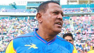 'Negro' Santos tras un juego amistoso
