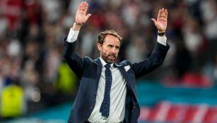Técnico de la selección inglesa Gareth Southgate