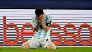 Messi jugó la Final de Copa América con una lesión en el isquiotibial, reveló Scaloni