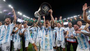 Argentina en festejo de campeonato