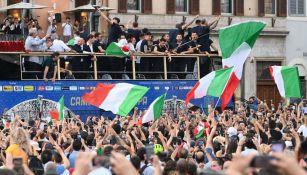 Italia en celebración