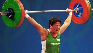 Soraya Jiménez en levantamiento de pesas