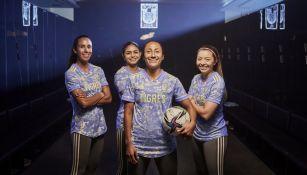 Nuevo uniforme de Tigres Femenil