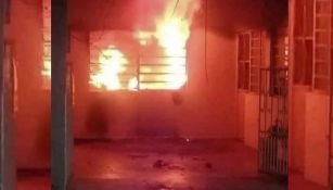 Mujer incendió su casa