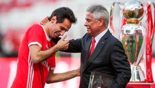Benfica: Luís Filipe Vieira renunció como presidente del club