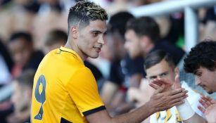 Jiménez volvió con el Wolverhampton