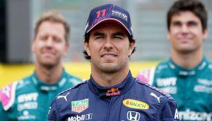 Checo Pérez finalizó décimo sexto en el Gran Premio de Gran Bretaña