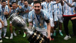 Messi con la Copa América