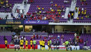 El Costa Rica vs Jamaica fue suspendido por mal clima
