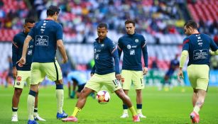 Giovani dos Santos previo a un partido con América