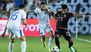 Jesús Gallardo durante un partido con México