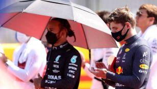 Max Vestappen sobre Hamilton: 'No me dejo intimidar'