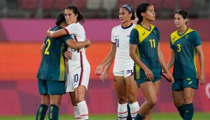 Tokio 2020: Estados Unidos y Australia 'pactaron' empate en futbol femenil