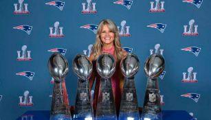 NFL: Exporrista de Patriots será la primera mujer en ingresar al Salón de la Fama