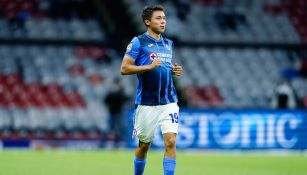 Rodrigo Huescas, en su debut con Cruz Azul