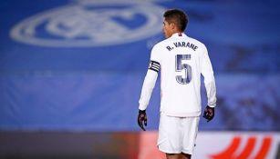 Raphael Varane con el Real Madrid