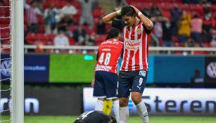 Ángel Zaldívar en derrota vs Atlético de San Luis