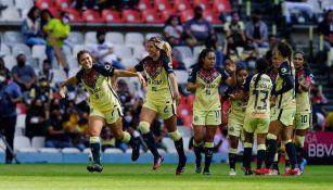 América Femenil en su último partido