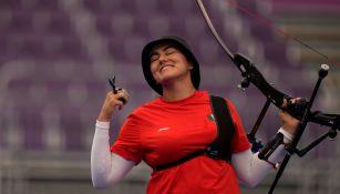 Alejandra Valencia en los Cuartos de Final