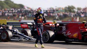 Checo Pérez en el Gran Premio de Gran Bretaña