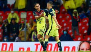 América: Venció a Necaxa con debuts goleadores de Álvaro Fidalgo y Salvador Reyes