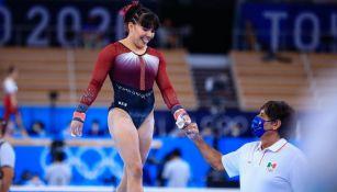 Alexa Moreno en competencia