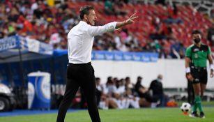Diego Cocca en partido con Atlas