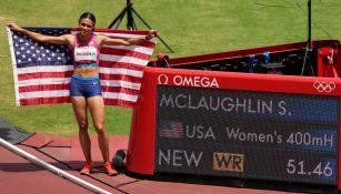 Sydney McLaughlin rompió récord mundial en 400 con vallas