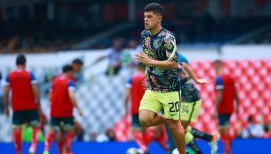 Sánchez en el juego vs Puebla