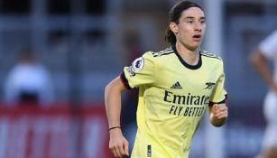 Marcelo Flores, en juego del Arsenal Sub 18