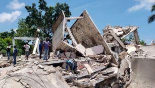 Estragos del sismo en Haití