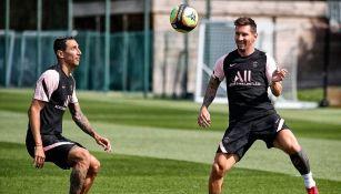 Di María sobre la llegada de Messi al PSG: 'Messi es de otro mundo, nunca vi nada igual'