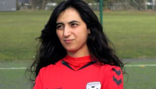 Khalida Popal en una entrevista