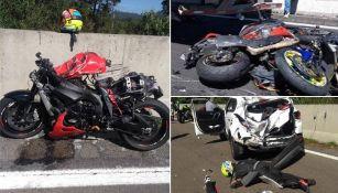 Accidente en Cuernavaca deja a 7 motociclistas muertos