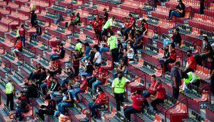 Afición de Xolos en el Estadio Caliente