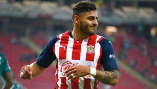 Alexis Vega en lamento con Chivas