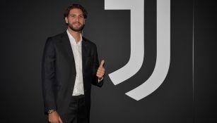 Manuel Locatelli tras cerrar su fichaje con la Juventus