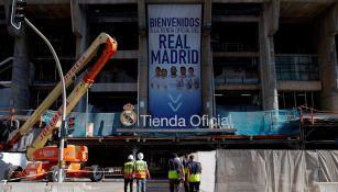 Tienda oficial del Real Madrid en el Santiago Bernabéu