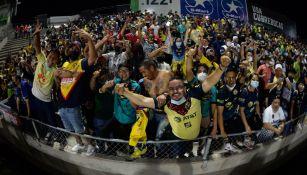 Afición en el Estadio Olímpico Benito Juárez