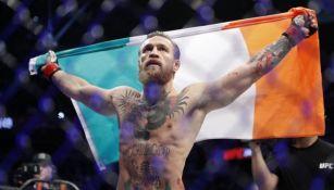 Conor McGregor tras un combate