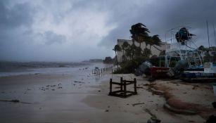 Afectaciones de Grace en Playa del Carmen