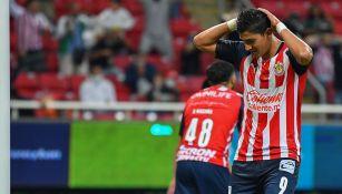 Ángel Zaldívar tras una falla con Chivas