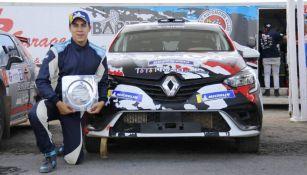 Mauro Sánchez no tiene miedo a ser campeón como piloto de Rally