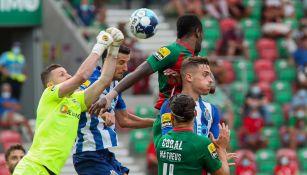 Acciones entre el Porto y el Marítimo