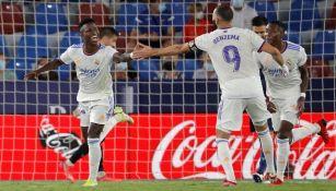 Vinicius Jr. rescató al Madrid